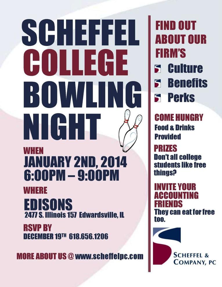 College Bowling with Scheffel - Scheffel Boyle